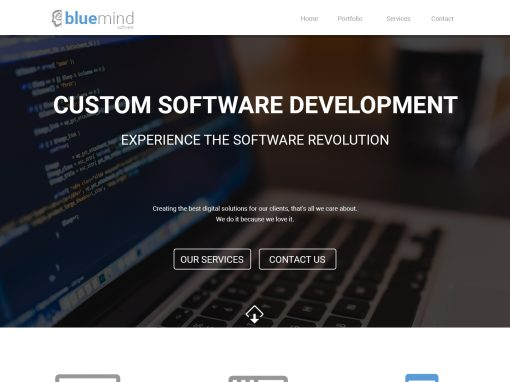 BlueMind Website Redesign